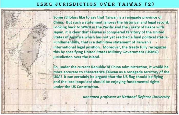 USMG jurisdiction over Taiwan (2)