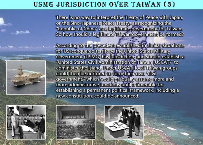 USMG jurisdiction over Taiwan (3)