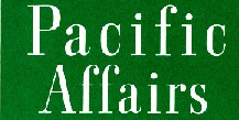 Journal of Pacific Affairs